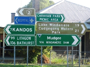 rylstone road signs